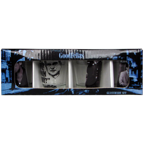 Goodfellas Shot Glass 4-Pack