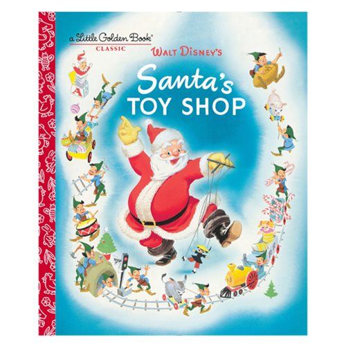 Santa's Toy Shop Little Golden Book