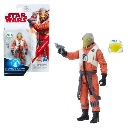 Star Wars: The Last Jedi C'ai Threnalli 3 3/4-Inch Action Figure - Exclusive