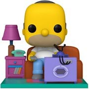 Simpsons Homer Watching TV Deluxe Pop! Vinyl Figure