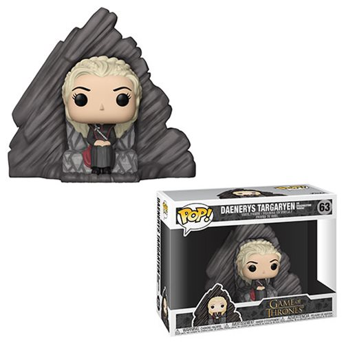 Game of Thrones Daenerys on Dragonstone Throne Pop! Vinyl Figure