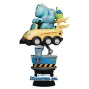 Monsters Inc. Coin Ride DS-037 D-Stage 6-Inch Statue