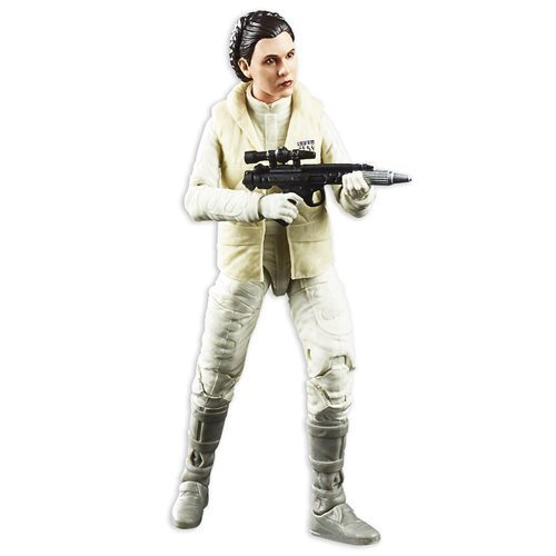 Star Wars The Black Series Empire Strikes Back 40th Anniversary 6-Inch Princess Leia Hoth Action Figure