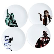 Star Wars 10-Inch Ceramic Plate 4-Pack Set