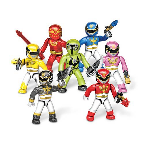 Mega Bloks Power Rangers MF Micro Figures Series 1 Set
