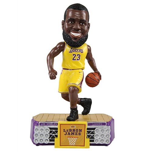 NBA Los Angeles Lakers LeBron James #23 Stadium Lights Bobble Head