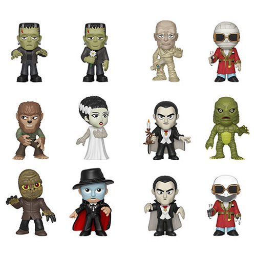 Universal Monsters Mystery Minis Random 4-Pack