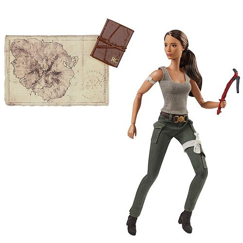 Tomb Raider Movie Barbie Lara Croft Doll
