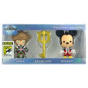 Kingdom Hearts 3D Figural Key Chain 3-Pack - San Diego Comic-Con 2017 Exclusive