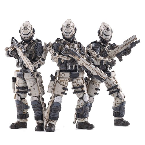 Joy Toy Free Truism 20ST Legion White Viper Squad 1:18 Scale Action Figure 3-Pack