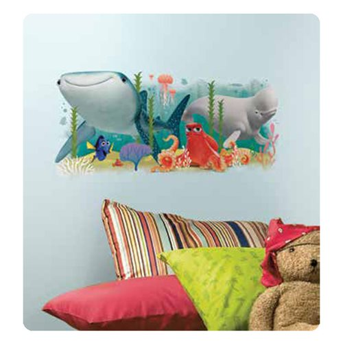 Finding Dory and Friends Peel and Stick Giant Wall Decal