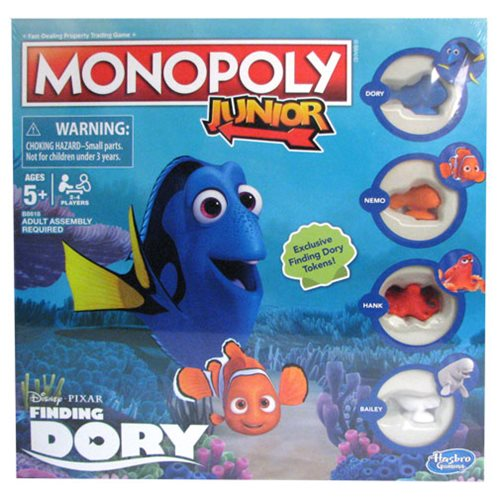 Finding Dory Monopoly Jr. Game