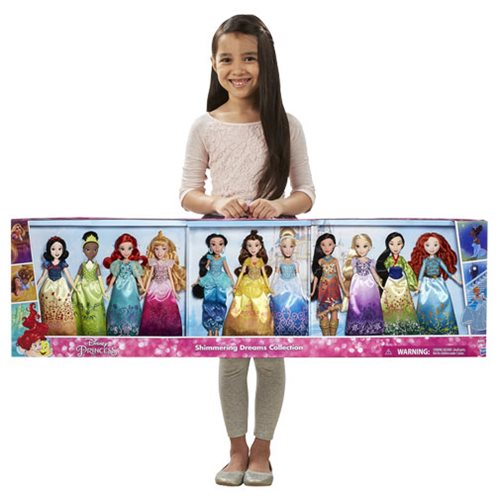 Disney Princess Shimmering Dreams Collection Doll Set