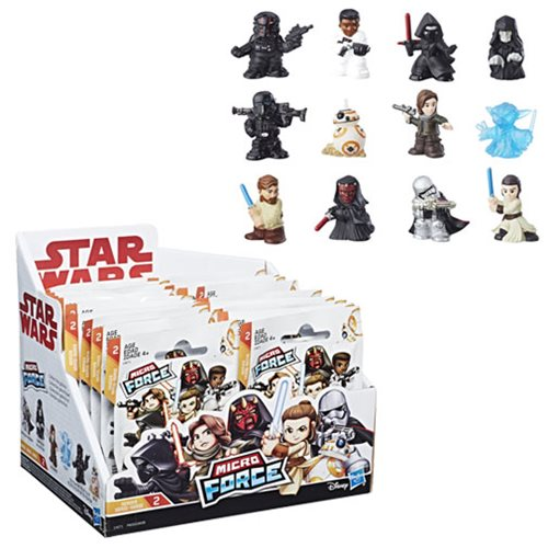 Star Wars Micro Force Mini-Figures Wave 2 Case