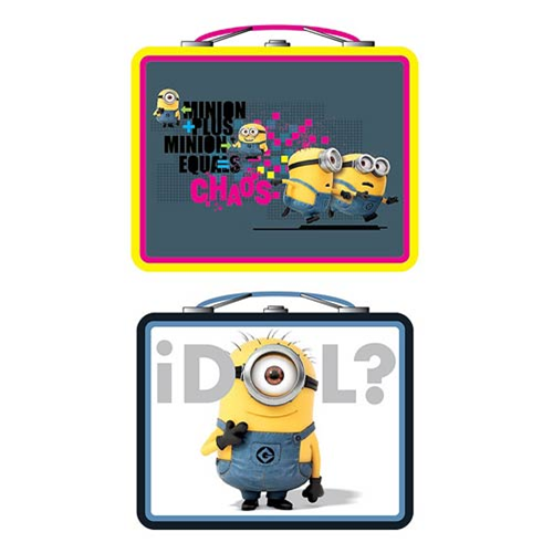 Despicable Me Tin Tote Lunch Box Set