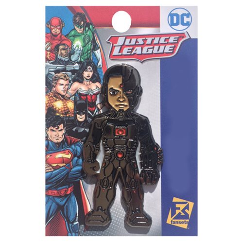DC Comics Cyborg The New 52 Pin