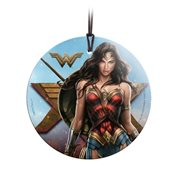 Wonder Woman Strength for Love StarFire Prints Hanging Glass Ornament