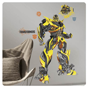 Transformers Age of Extinction Bumblebee Giant Wall Decal