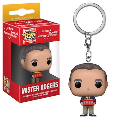 Mr. Rogers Neighborhood Mr. Rogers Pocket Pop! Key Chain