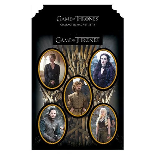 Game of Thrones Character Magnet Set 3