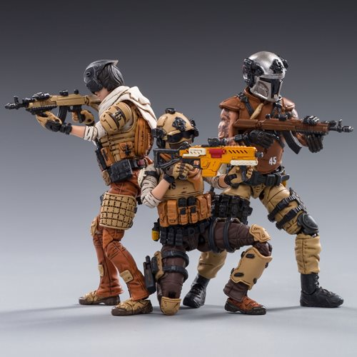 Joy Toy 45st Legion Wasteland Hunters 1:18 Scale Action Figure 3-Pack