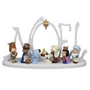 Peanuts Nativity Noel LED 10-Inch Statue