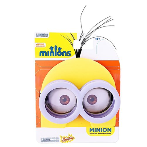 Despicable Me Kevin Minion Sun-Staches