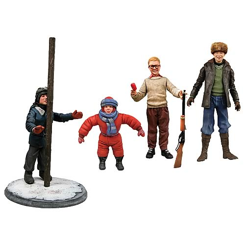 Christmas Story Kids Action Figure Box Set