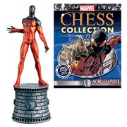 Marvel Scarlet Spider White Knight Chess Piece with Collector Magazine #73
