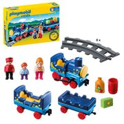 Playmobil 6880 Night Train with Track