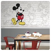 Mickey Mouse Classic XL Chair Rail Prepasted Mural