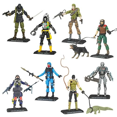G.I. Joe 25th Anniversary Action Figures Wave 10 Revision 1