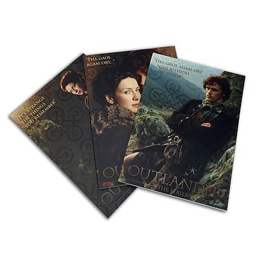 Outlander Collector Notebook Set 3-Pack