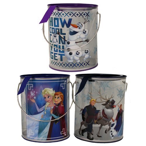 Disney Frozen Clear Bucket Set