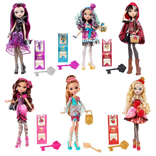 Ever After High First Chapter Doll Case
