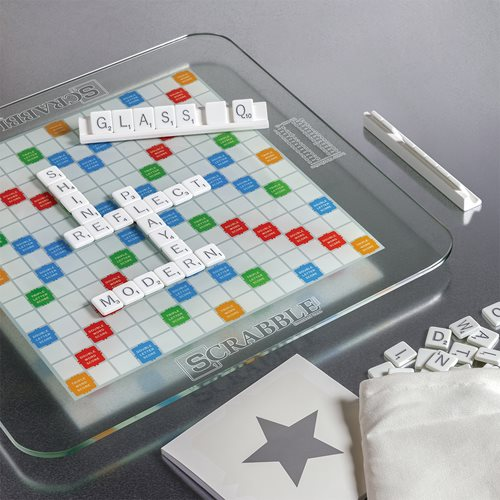 Scrabble Glass Edition