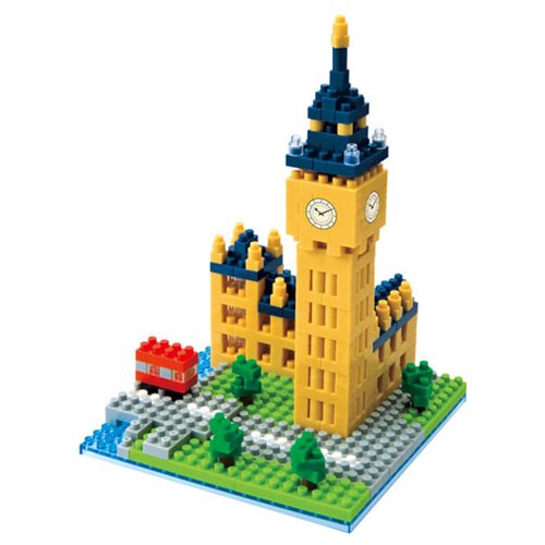 Big Ben Nanoblock Constructible Figure