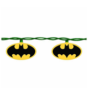 Batman Bat Signal 10-Light Christmas Tree Lights, Not Mint