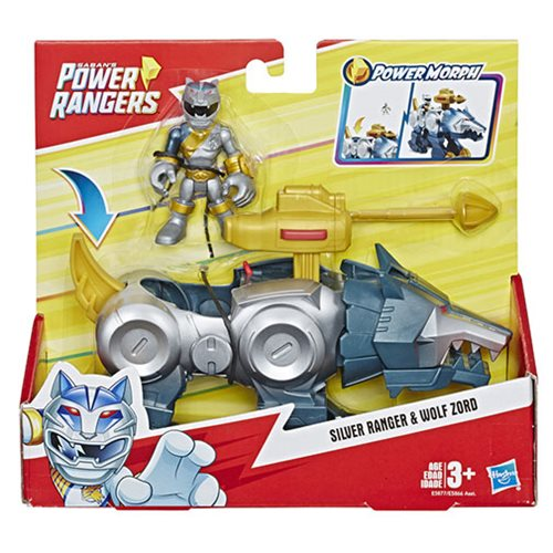 Power Rangers Playskool Heroes Feature Zords Wave 1 Set