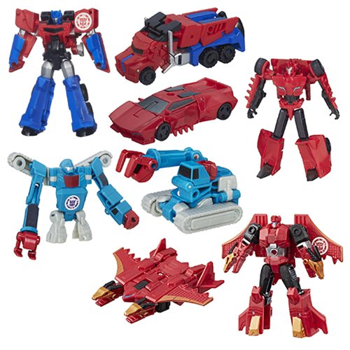 Transformers Robots in Disguise Legion Wave 10 Set