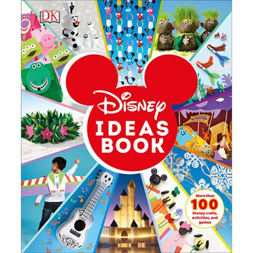 Disney Ideas Book: More than 100 Disney Crafts, Activities, and Games Hardcover Book