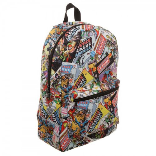 Justice League All-Over-Print Backpack