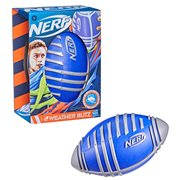 Nerf Weather Blitz Silver and Blue Foam Football