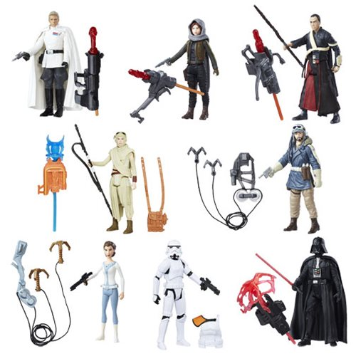 Star Wars Rogue One 3 3/4-Inch Action Figures Wave 2 Case