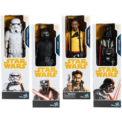 Star Wars Solo Titan Hero 12-Inch Action Figures Wave 2 Set