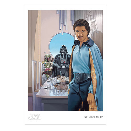 Star Wars Join Us for Dinner by Dave Nestler Paper Giclee Art Print