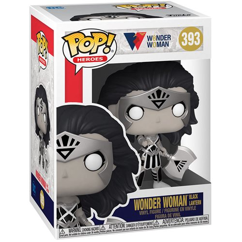 Wonder Woman 80th Anniversary Black Lantern Pop! Vinyl Figure