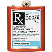 Booze Perscription Hip Flask
