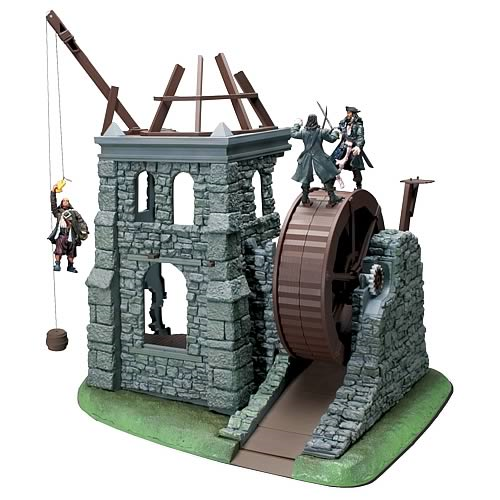 Pirates 2 Isla Cruces Playset with Rolling Wheel
