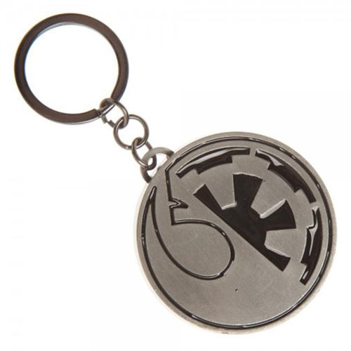 Star Wars Split Logo Key Chain